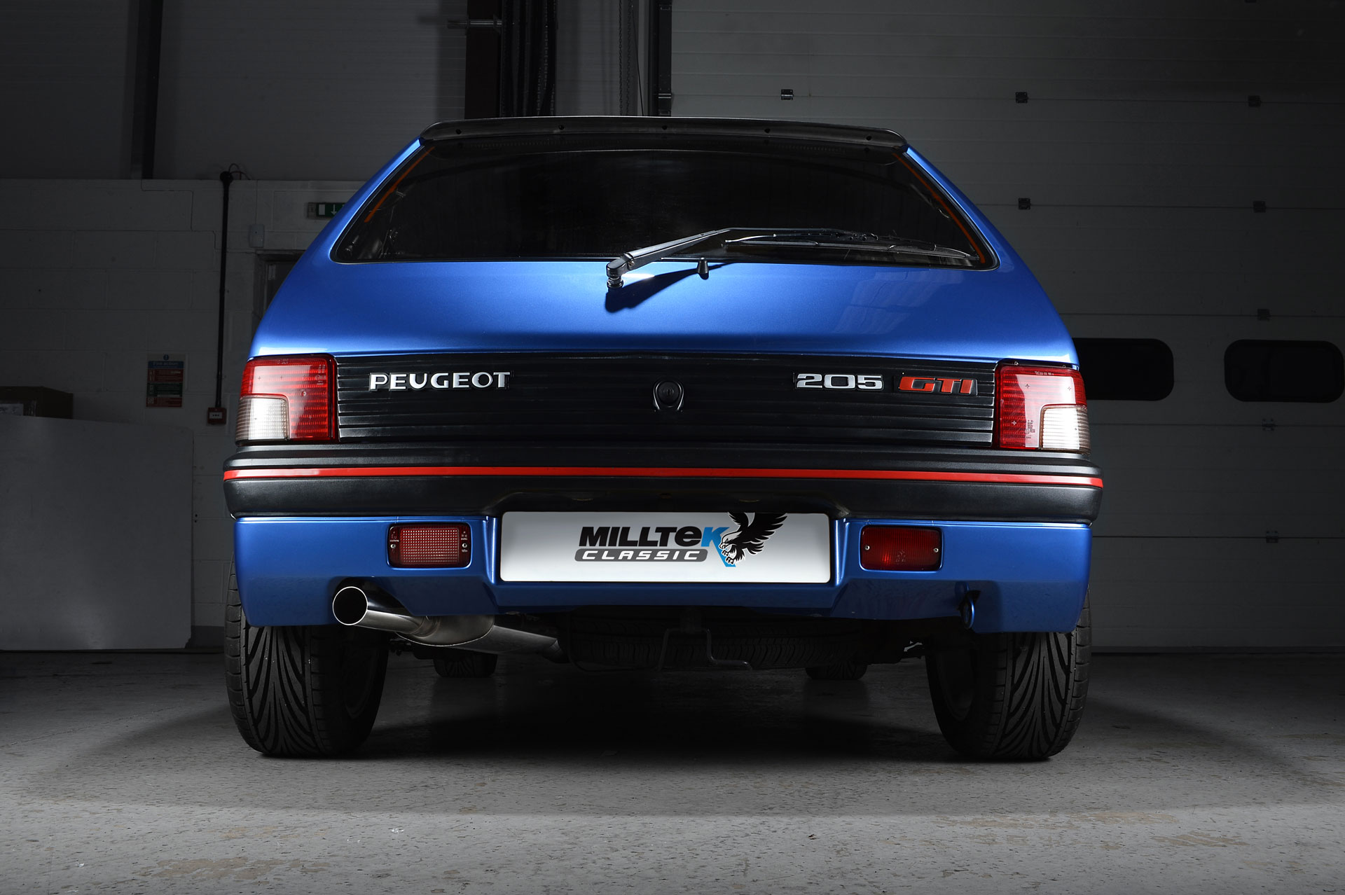 Peugeot 205 Gti Performance Exhaust System By Milltek Classic