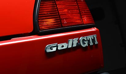 Golf GTi badge: because...why not!
